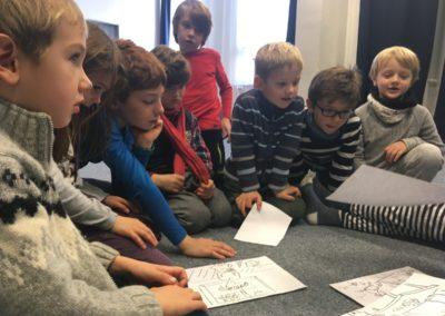 děti při vyučování